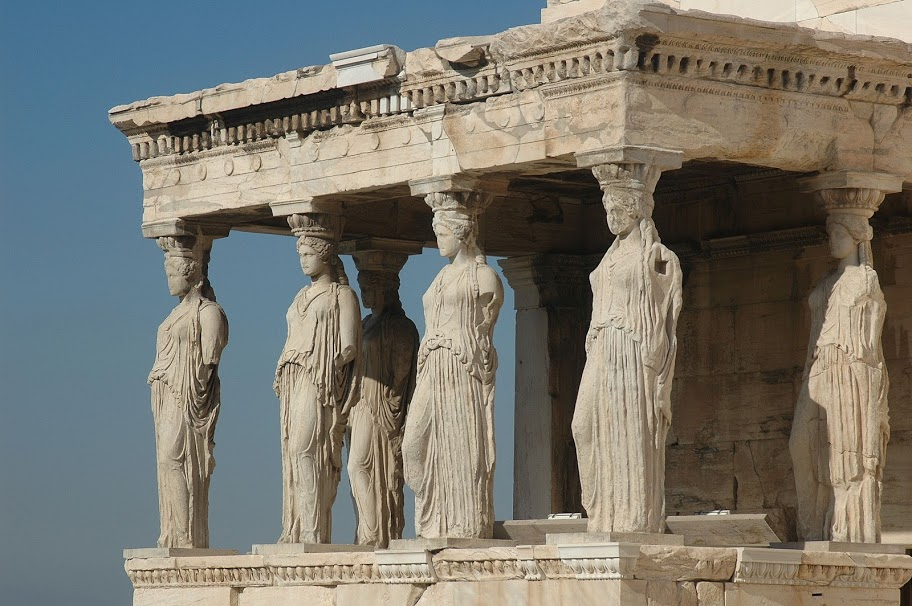 Sombras de Tinta: La Acrópolis (IV); el Erecteion